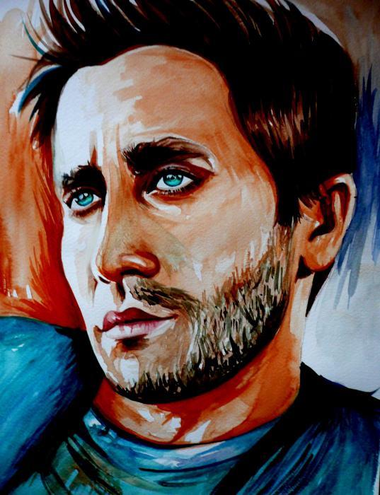 Jake Gyllenhaal by mariebouldingue